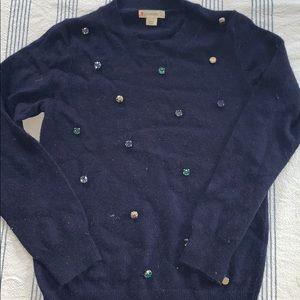 WINTER ❄️  j.crew wool GEM 💎 sweater